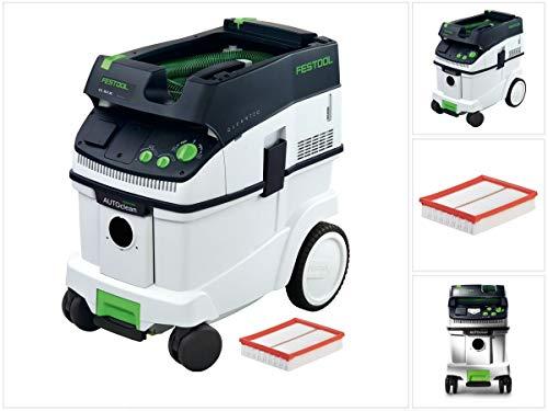 Festool Absaugmobil CTL 36 E AC Nass- und Trockensauger mit Autoclean, Sys-Dock und Flowdetect + 1 x Ersatz Hauptfilter